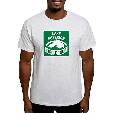 Lake Superior Circle Tour Light T-Shirt