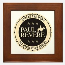 Paul Revere Framed Tile