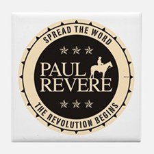 Paul Revere Tile Coaster