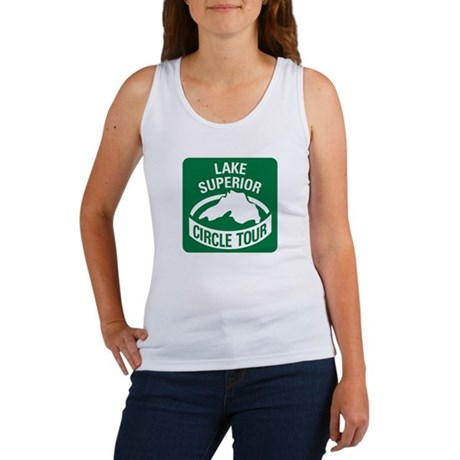 Lake Superior Circle Tour Women's Tank Top
