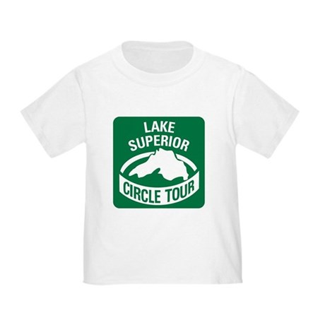 Lake Superior Circle Tour Toddler T-Shirt