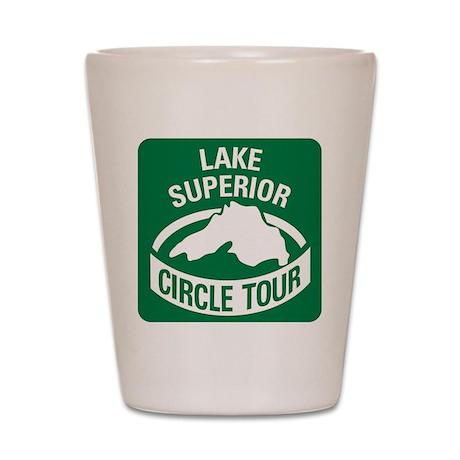 Lake Superior Circle Tour Shot Glass