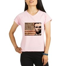 Abraham Lincoln Performance Dry T-Shirt