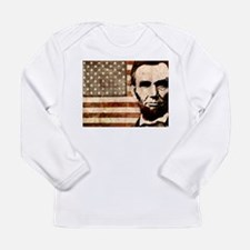 Abraham Lincoln Long Sleeve Infant T-Shirt