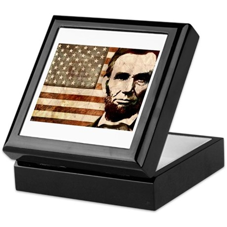Abraham Lincoln Keepsake Box