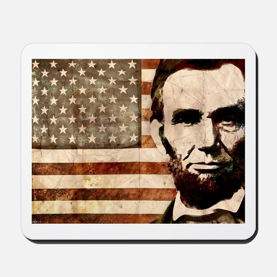 Abraham Lincoln Mousepad