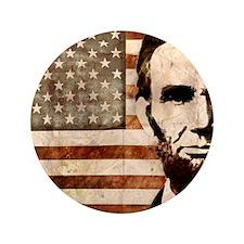 "Abraham Lincoln 3.5"" Button"