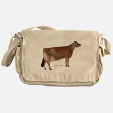 Jersey Cow Messenger Bag