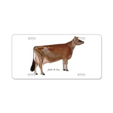 Jersey Cow Aluminum License Plate