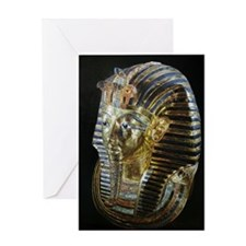 Tutankhamon's Golden Mask Greeting Card