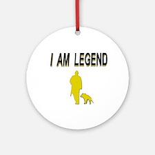 i am legend Ornament (Round)