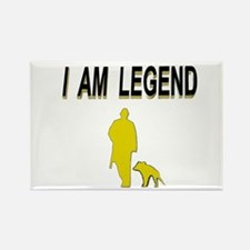 i am legend Rectangle Magnet