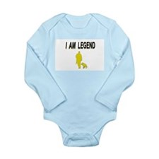 i am legend Long Sleeve Infant Bodysuit