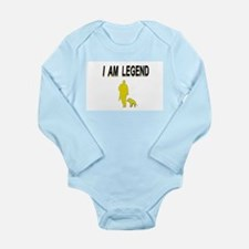 i am legend Long Sleeve Infant Bodysuit