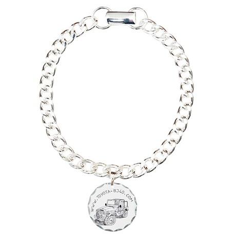 Bracelet / Charm Bracelet, One Charm