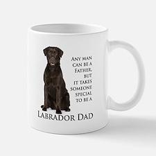 Chocolate Lab Dad Small Small Mug