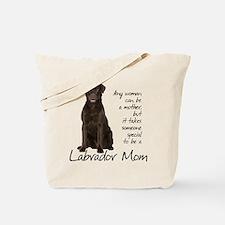 Chocolate Lab Mom Tote Bag