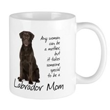 Chocolate Lab Mom Mug