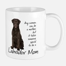 Chocolate Lab Mom Small Mugs