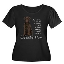 Chocolate Lab Mom T