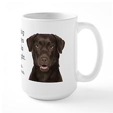 Chocolate Lab v. Wife Mug