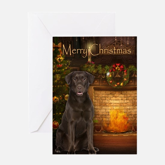 Choc. Lab Holiday Card