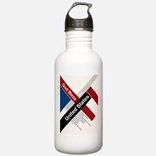 God Bless The United States Water Bottle