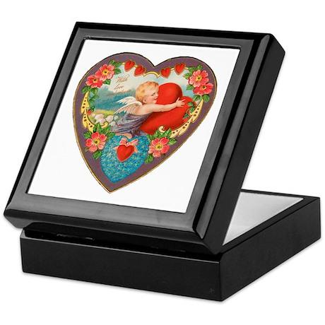 Cupid with Love Keepsake Box
