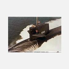 USS HENRY L. STIMSON Rectangle Magnet