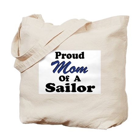 Proud Mom of a Sailor Tote Bag