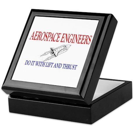 Aerospace Engineers Do It Keepsake Box