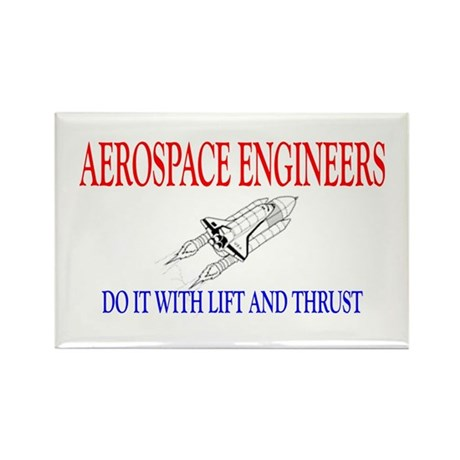 Aerospace Engineers Do It Rectangle Magnet (100 pa