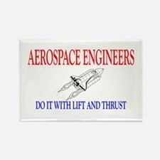 Aerospace Engineers Do It Rectangle Magnet