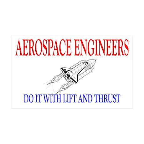Aerospace Engineers Do It 38.5 x 24.5 Wall Peel
