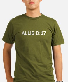 Allis-D17blk(Org)_1 T-Shirt