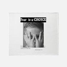 Fear Throw Blanket