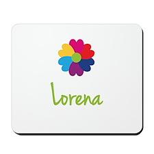 Lorena Valentine Flower Mousepad
