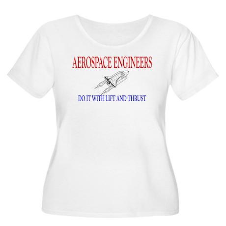 Aerospace Engineers Do It Women's Plus Size Scoop