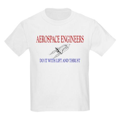 Aerospace Engineers Do It Kids Light T-Shirt