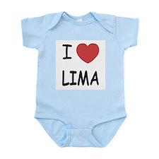 I heart lima Infant Bodysuit