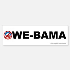 Owe - Bama, Bumper Bumper Sticker