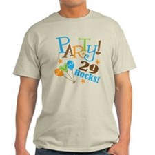 29 Rocks 29th Birthday T-Shirt
