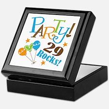 29 Rocks 29th Birthday Keepsake Box