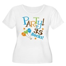 35 Rocks 35th Birthday T-Shirt