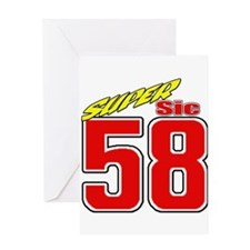 MS58SS2 Greeting Card