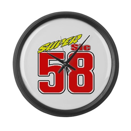 MS58SS2 Large Wall Clock
