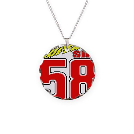 MS58SS2 Necklace Circle Charm