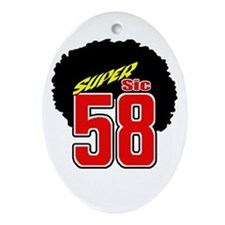 MS58SSafro Ornament (Oval)