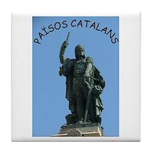 Països Catalans Tile Coaster