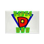 Superhero Super Dad Rectangle Magnet (100 pack)